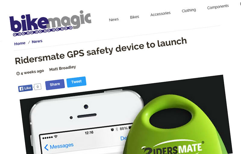 Bikemagic features Ridersmate