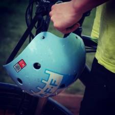 Tagged Helmet